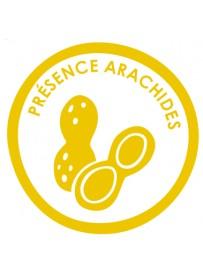 Sticker présence allergène arachides