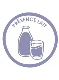 Sticker présence allergène lait