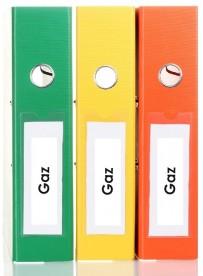 Sticker gaz classement administratif