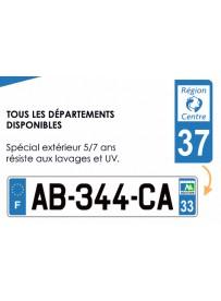 Sticker plaque AUTO