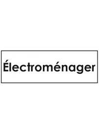 Sticker électroménager classement administratif