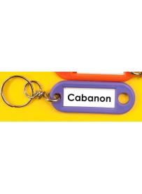 Sticker cabanon porte-clé