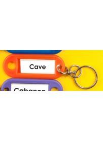 Sticker cave porte-clé