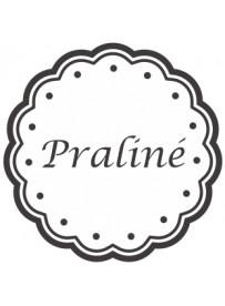 Étiquette Praliné pots et bocaux