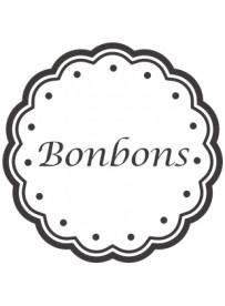 Étiquette Bonbons pots et bocaux