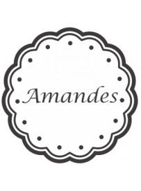 Étiquette Amandes pots et bocaux