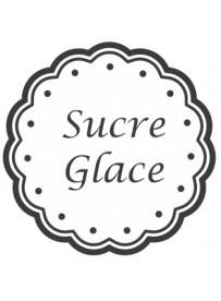 Étiquette Sucre glace pots et bocaux