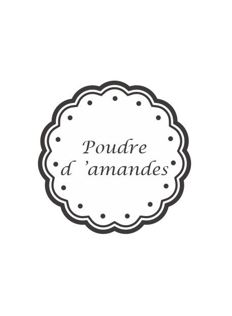Stickers Poudre D Amande Pots Et Bocaux