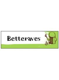 Étiquette Betterave graine potager