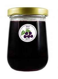 Étiquette Mûre pot et bocal en verre