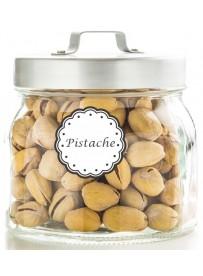 Étiquette Pistache pots et bocaux