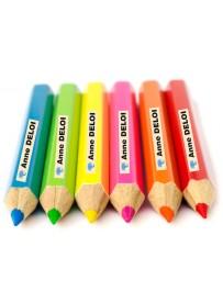 Étiquette personnalisé crayon enfant