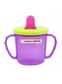 Étiquette personnalisée biberon bébé