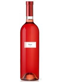 Étiquette bouteille vin rosé