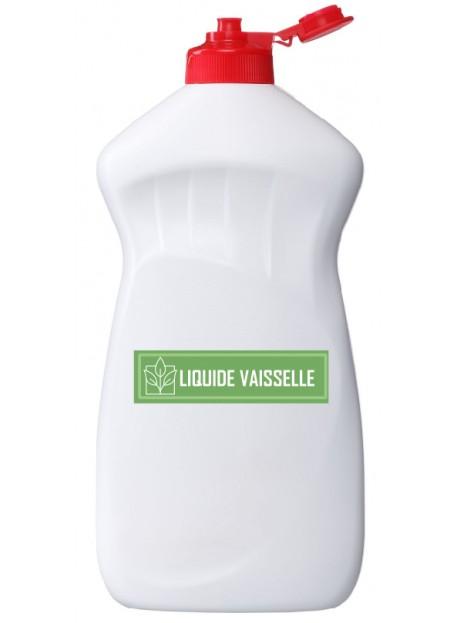 Étiquette liquide vaisselle naturel maison