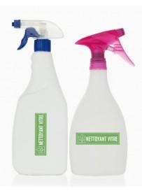 Étiquette nettoyant vitre naturel maison