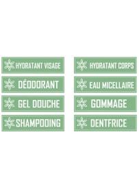 Planche étiquette produits d'hygiène fait-maison