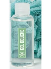 Étiquette gel douche naturel maison