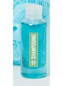 Étiquette shampooing naturel maison