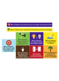 Planche règles écologique entreprise