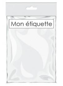Étiquette pour sachet plastique