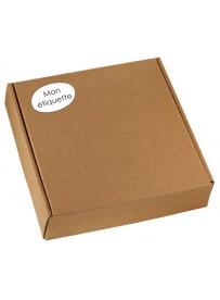 Étiquette pour carton