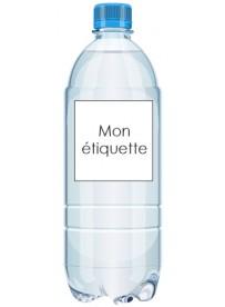 Étiquette pour bouteille en plastique