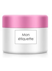 Étiquette pour pot cosmétique