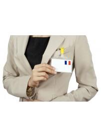 Impression étiquette autocollante stickers drapeau France