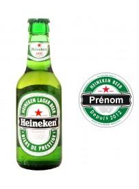 Étiquette bière personnalisée prénom