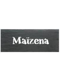 Etiquette Maizena pot et bocal en verre