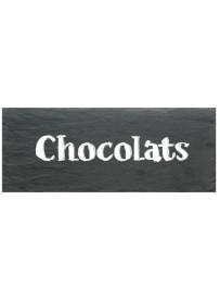 Étiquette Chocolats pots et bocaux