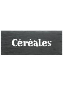 Étiquette Céréales pots et bocaux
