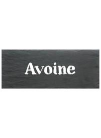 Étiquette Avoine pots et bocaux