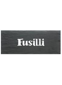 Etiquette Fusilli pot et bocal en verre
