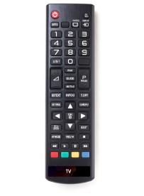 Étiquette TV télécommande