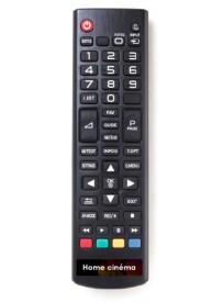 Étiquette télécommande Home Cinéma