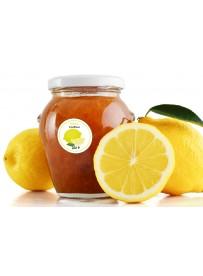 Étiquette Citron pot et bocal en verre