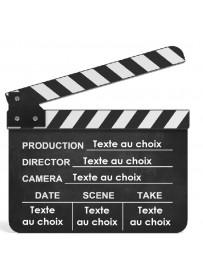 Étiquette personnalisée Clap Cinéma