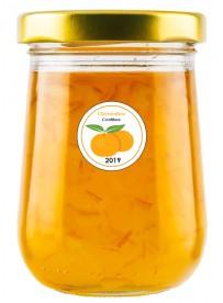 Étiquette Clémentine pot et bocal en verre