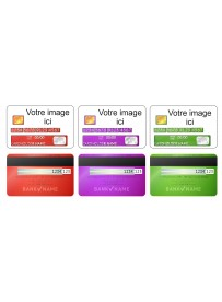 Carte Bleue Personnalisee.Sticker Personnalise Pour Carte Bancaire Sarl Sticker