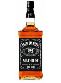 Étiquette bouteille jack daniels personnalisée