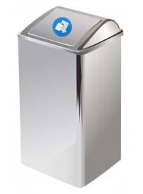 Sticker poubelle bleue
