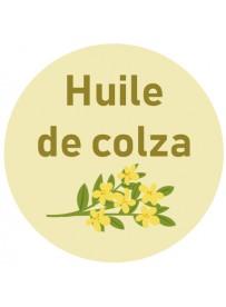 Étiquette huile colza