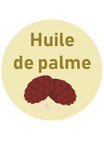 Étiquette huile de palme