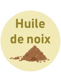 Étiquette huile de noix