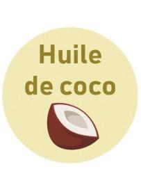 Étiquette huile de coco