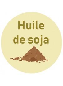 Étiquette huile de soja