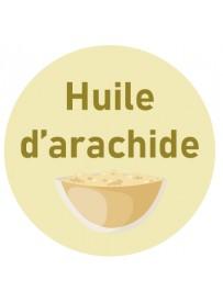 Étiquette huile d'arachide