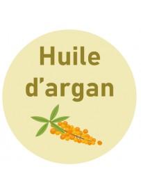 Étiquette huile d'argan